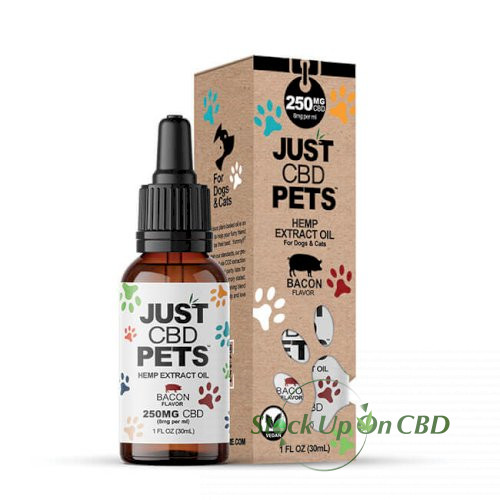 JustCBD Pet Tincture Bacon 250mg