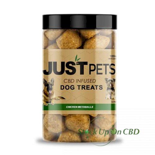 JustCBD Pets Chicken Meatballs