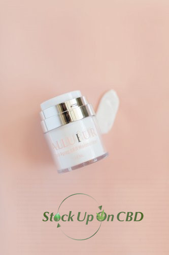 """Allueur CBD Beauty Products and CBD Cosmetics""  Anti-Aging CBD Moisturizer"