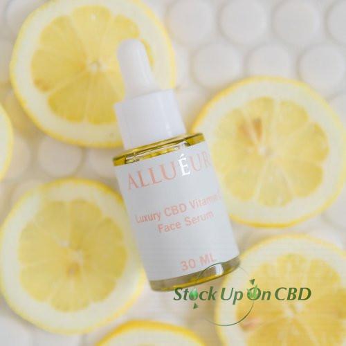 """""""Allueur CBD Beauty Products and CBD Cosmetics"""" - Luxury CBD Vitamin C Face serum"""